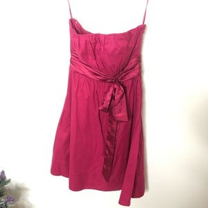 NWT The Limited pink strapless dress size 2